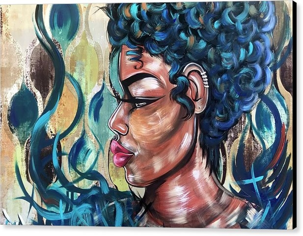 Artist RiA - She was a Cool Flame