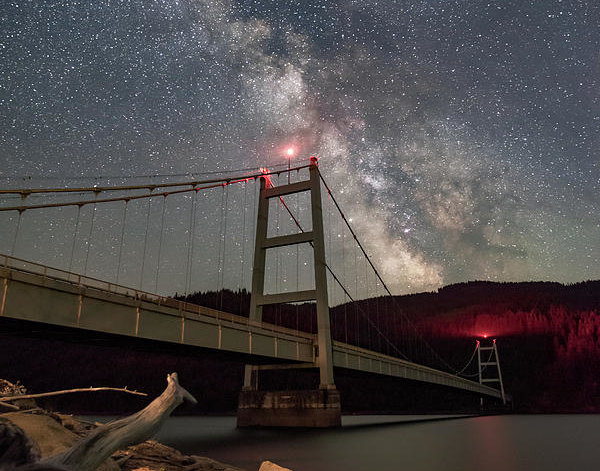 Jeremy Tamsen - Dent Bridge Milky Way 2018