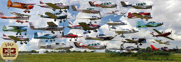 Jeff Kurtz - Big Muddy Fly-By Collage