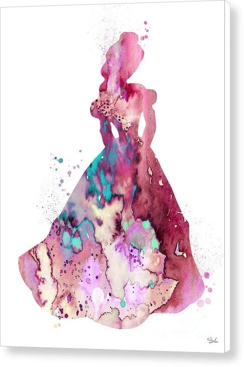 Watercolor Girl - Belle