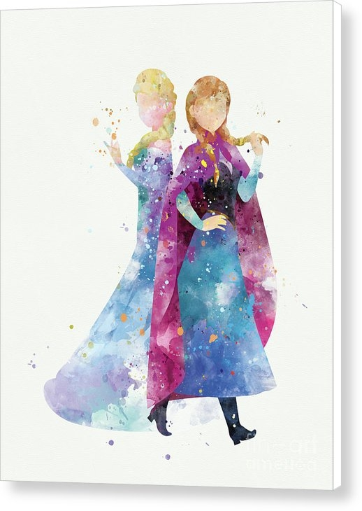 Monn Print - Anna and Elsa