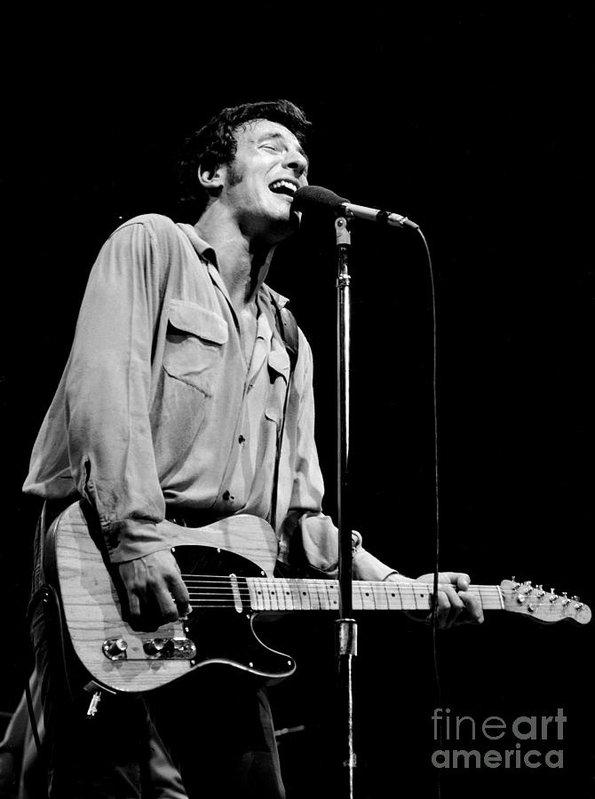 Chris Walter - Bruce Springsteen 1981