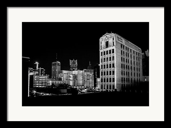 Rod  Arroyo - Wurlitzer Building - Detroit Skyline