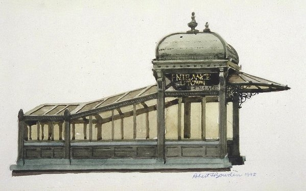 Robert Bowden - Astor Plaza Subway Entrance, Manhattan