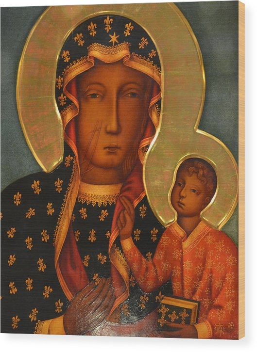 Philip Ralley - black Madonna