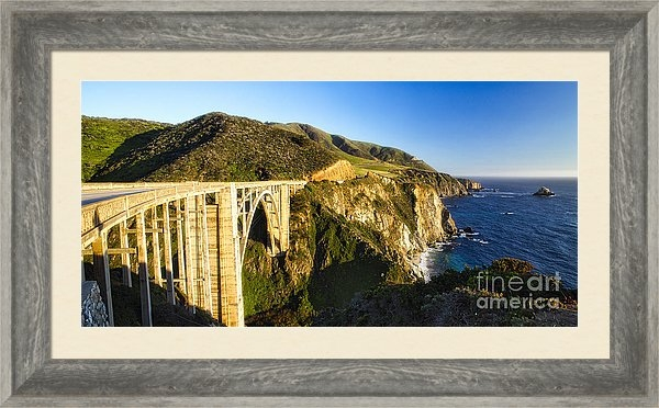 George Oze - Big Sur Coast at the Bixby Creek Bridge