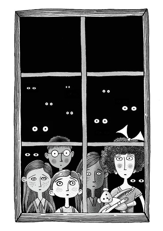 Andrew Hitchen - The Children in the Window