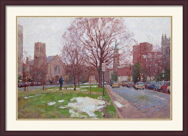 David Tanner - Winter Morning on Monument