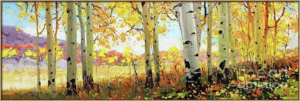 Gary Kim - Owl Creek Fall Aspen