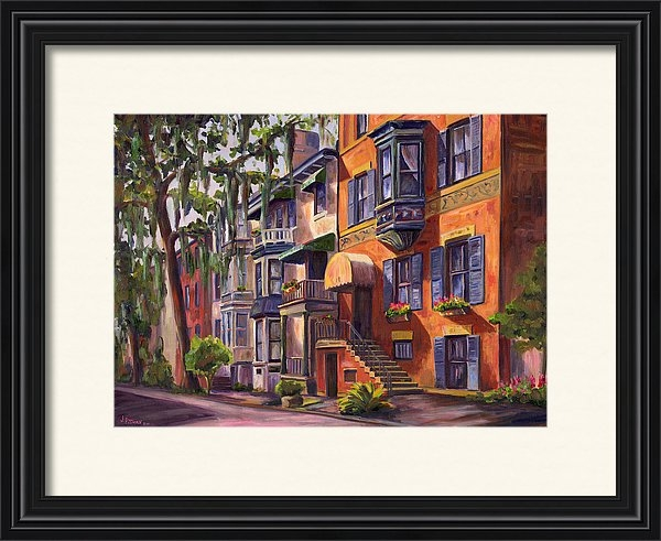 Jeff Pittman - Hull Street In Chippewa Square Savannah