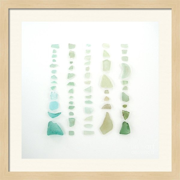Jennifer Booher - Blue and Green Sea Glass