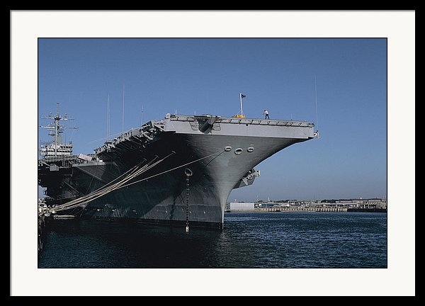 Carl Purcell - USS Gerald Ford in Norfolk Virginia
