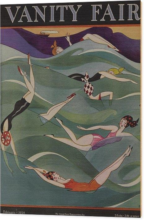 A H Fish - Vanity Fair February 1924 Cover