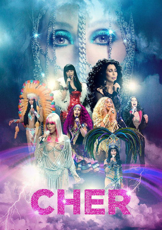 Nurick Novy - Cher D2K Tour Poster