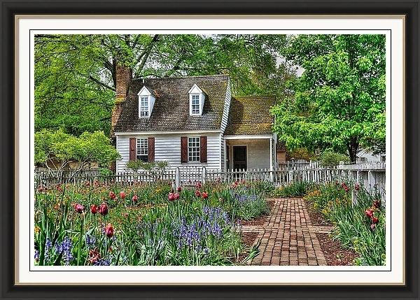 Todd Hostetter - Colonial Williamsburg Flower Garden