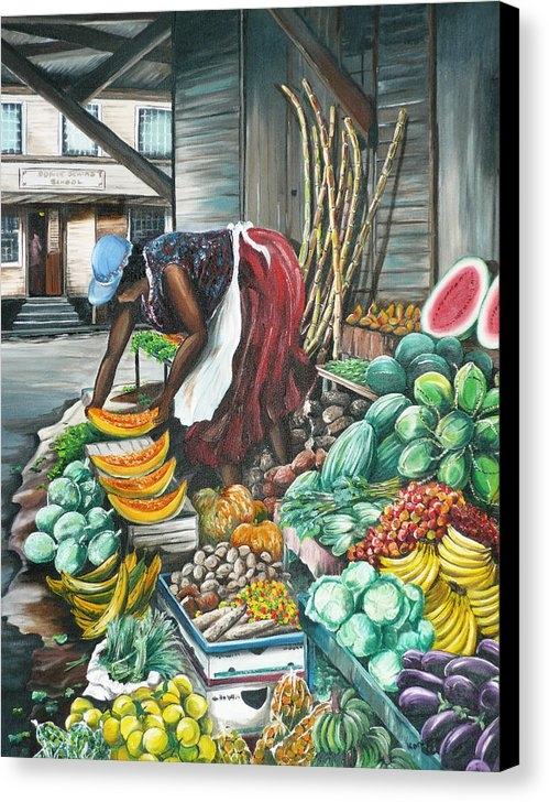 Karin  Dawn Kelshall- Best - Caribbean Market Day