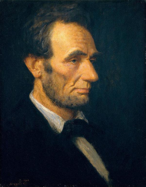 Douglas Volk - Abraham Lincoln