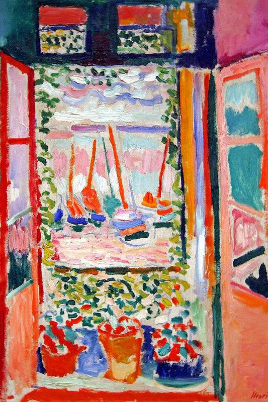 Cora Wandel - Matisse's Open Window At Collioure