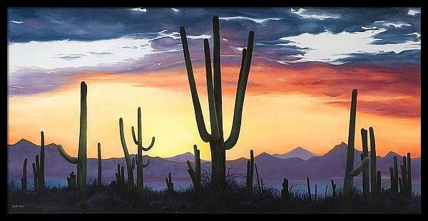 Lindy Swinney - Desert Sunset