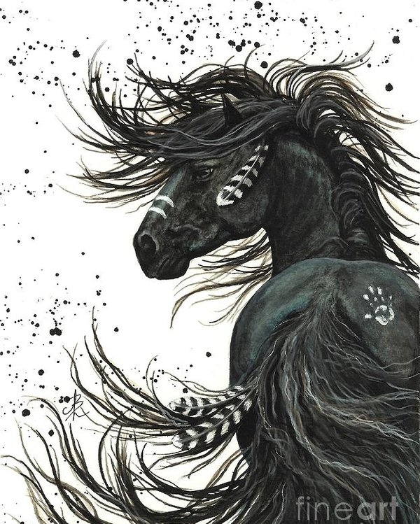AmyLyn Bihrle - Majestic Spirit Horse