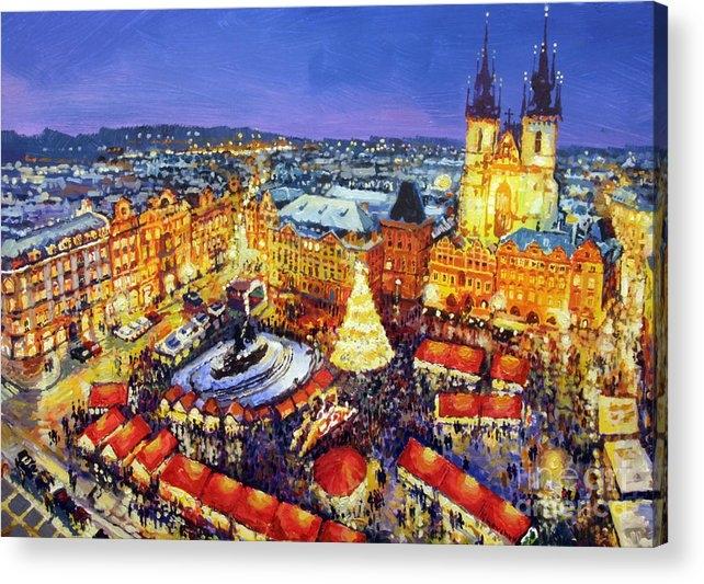 Yuriy Shevchuk - Prague Old Town Square Christmas Market 2014