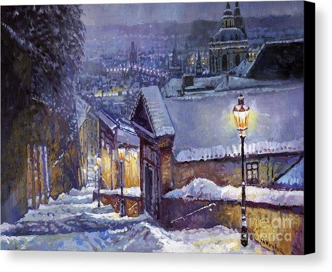 Yuriy Shevchuk - Prague Castle Steps Winter