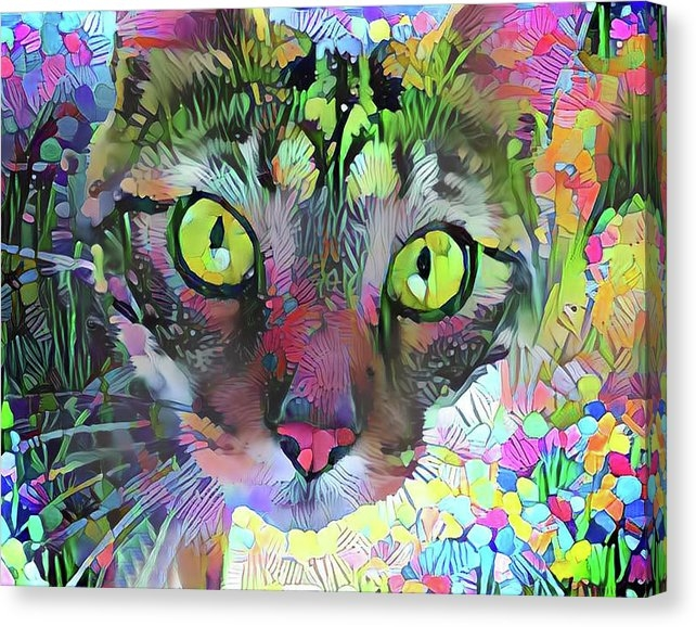 Peggy Collins - Posie the Tabby Cat
