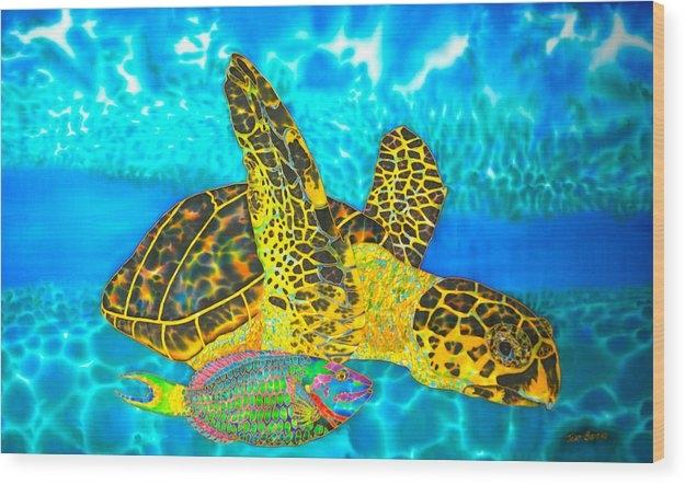 Daniel Jean-Baptiste - Sea Turtle and Parrotfish
