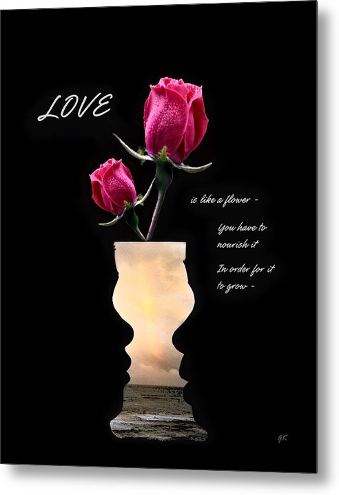 Gerlinde Keating - Galleria GK Keating Associates Inc - Love is like a flower