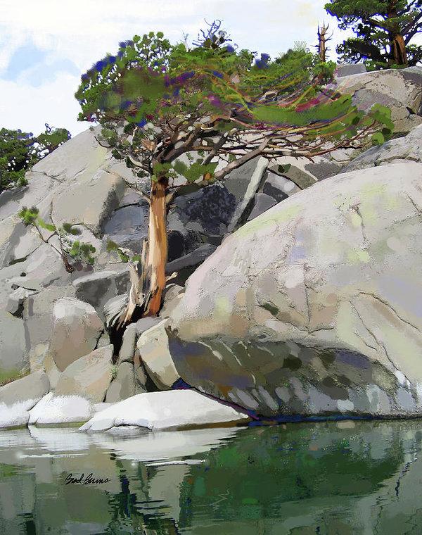 Brad Burns - Wind, Water and Granite