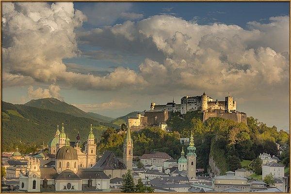 Chris Fletcher - Sunset over Salzburg