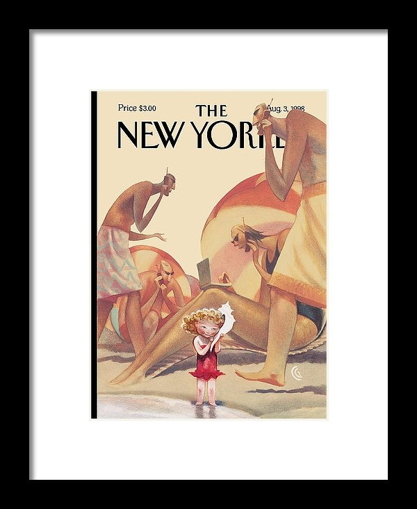 Carter Goodrich - The New Yorker Cover - August 3rd, 1998