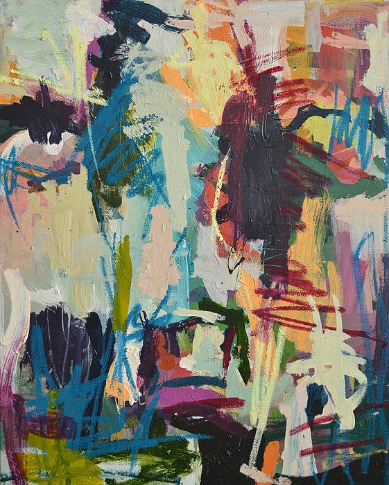 Robert Joyner - Modern Abstract Cow Painting