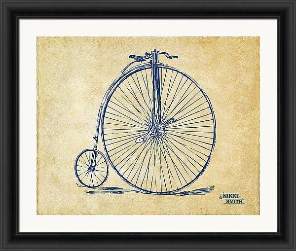 Nikki Marie Smith - Penny-Farthing 1867 High Wheeler Bicycle Vintage