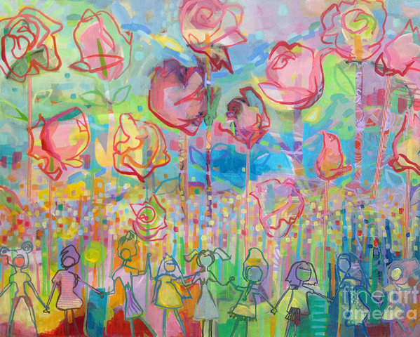 Kimberly Santini - The Rose Garden, Love Wins