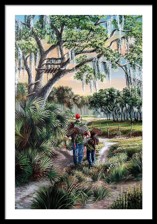 Daniel Butler - Spring Turkey Hunting - I love You Son