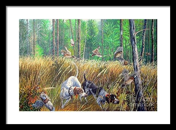 Daniel Butler - Thunder In The Pines- Bobwhite quail hunting