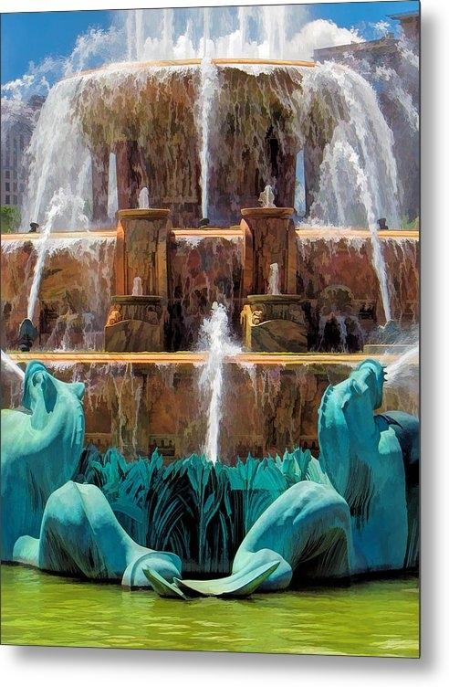 Christopher Arndt - Buckingham Fountain Closeup