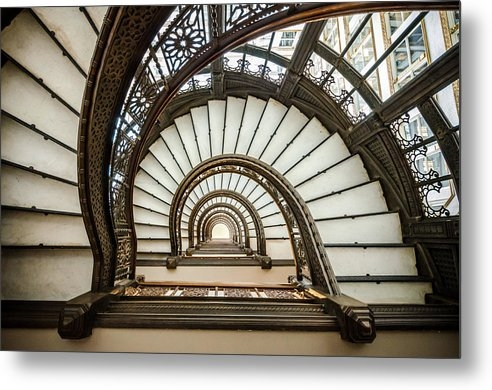 Anthony Doudt - Rookery Building Oriel Staircase