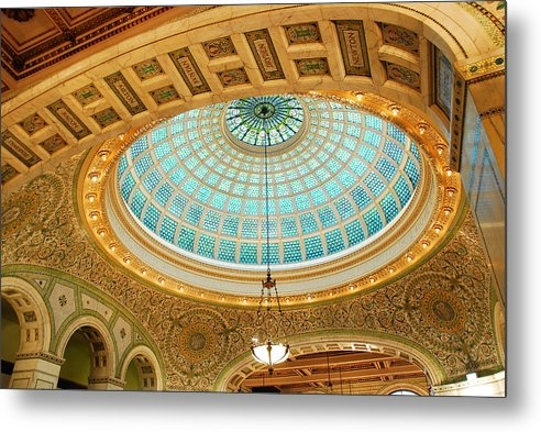 James Kirkikis - Tiffany Window of the Chicago Cultural Center