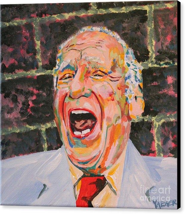 Robert Yaeger - Mel Brooks Portrait