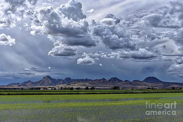 Michelle Zearfoss - Sutter Buttes Thunder Clouds