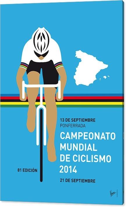 Chungkong Art - MY UCI Road World Championships MINIMAL POSTER 2014