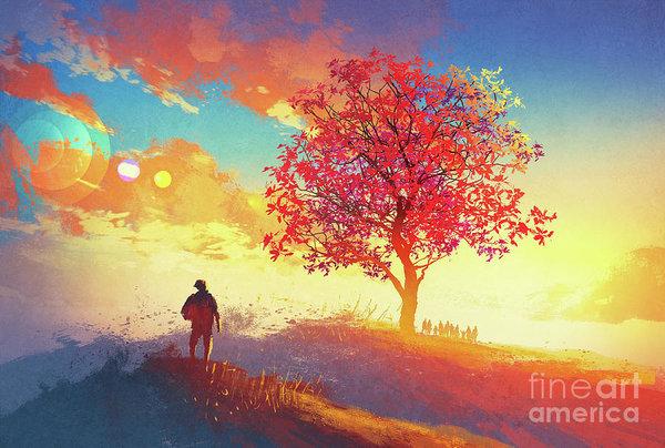 Tithi Luadthong - Autumn Sunrise
