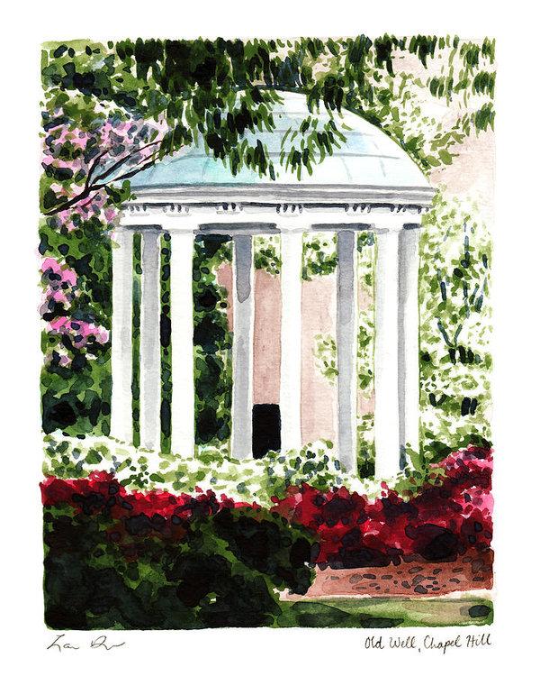 Laura Row - Old Well Chapel Hill UNC North Carolina