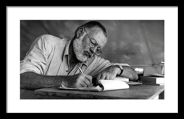 Daniel Hagerman - LOVE of WRITING - ERNEST HEMINGWAY