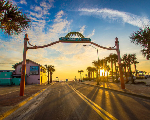 DM Photography- Dan Mongosa - Flagler Avenue Beach Ramp at Sunrise