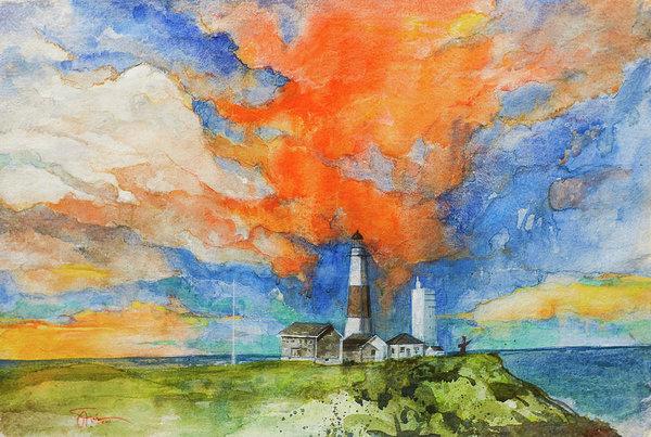 Savio Mizzi - Montauk Lighthouse