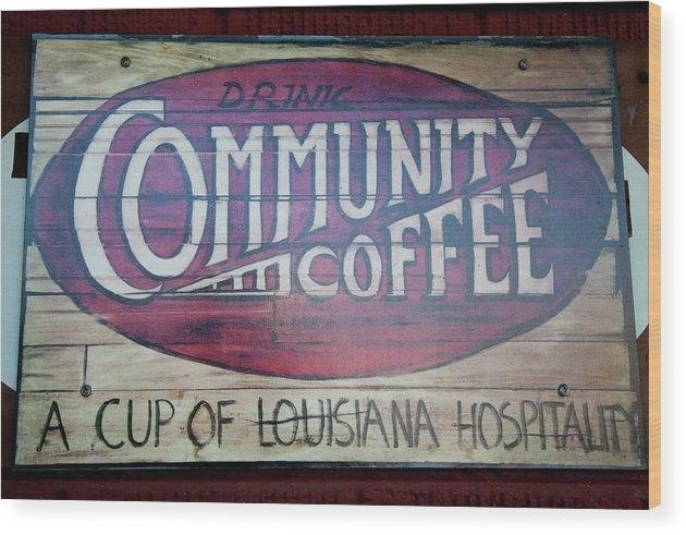 Toni Hopper - Drink Community Coffee