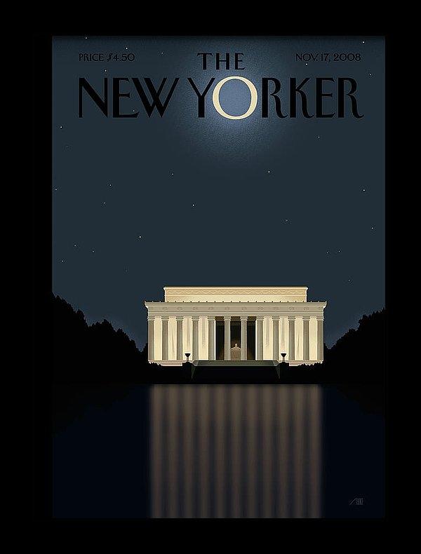 Bob Staake - New Yorker November 17th, 2008